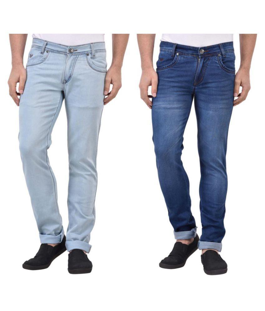 Denzor Blue Slim Jeans