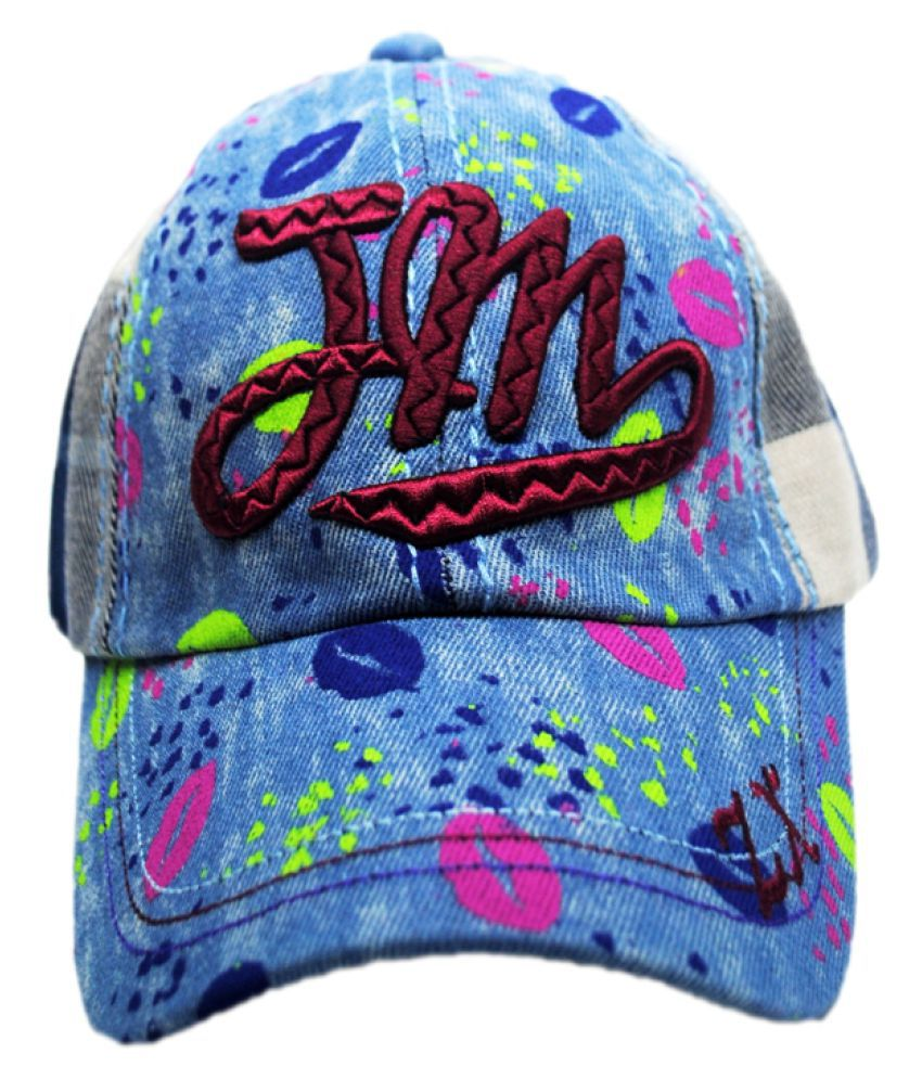 K-Only Multicolour Cotton Cap