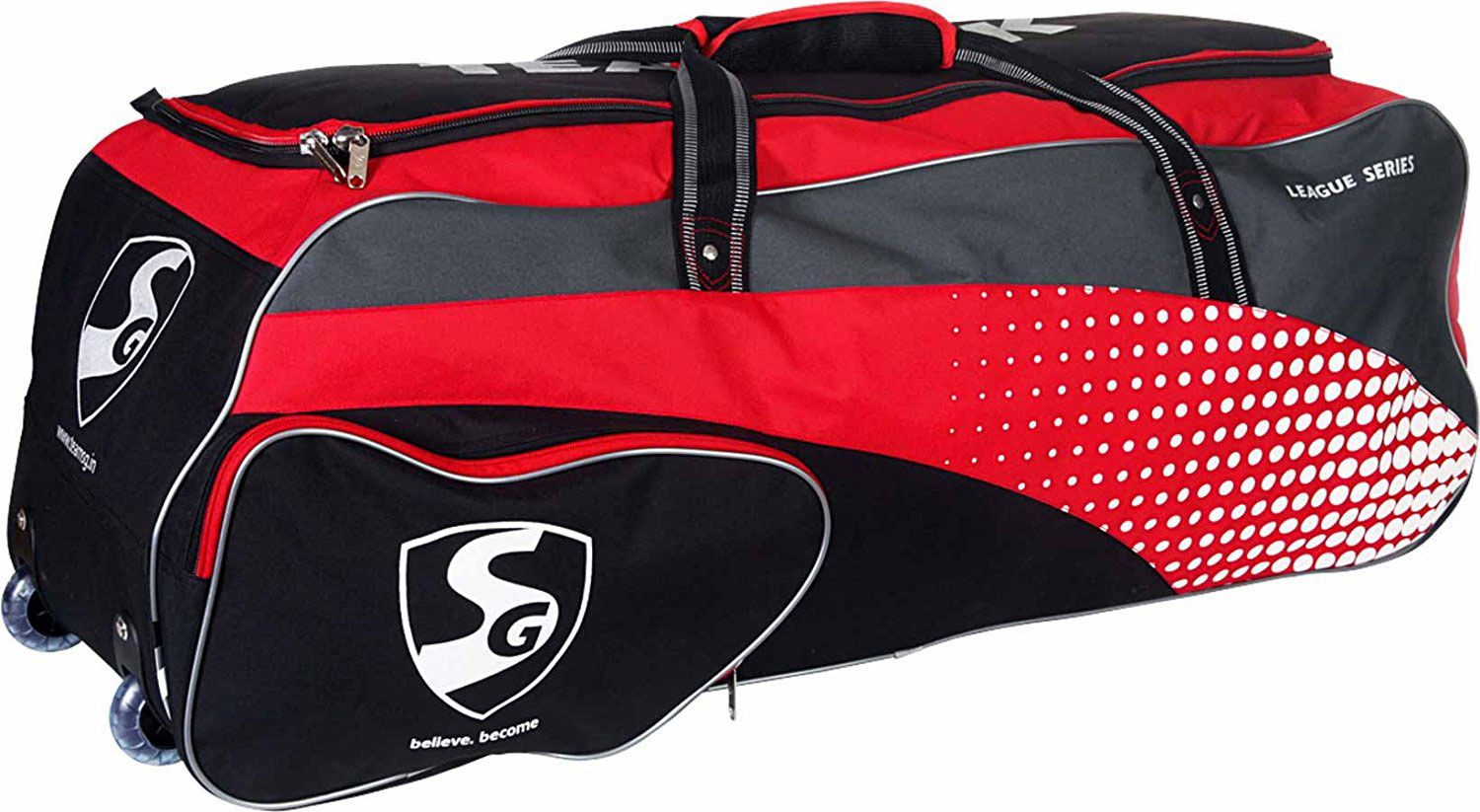 0aef965a99a0 SG Teampak Kit Bag  Buy Online at Best Price on Snapdeal