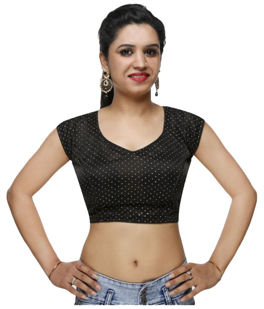 Lady In Style Black Blouse