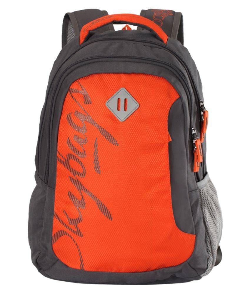 Skybags Orange Backpack
