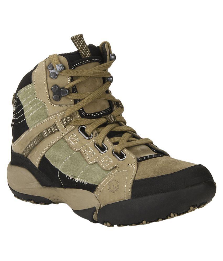 Woodland Khaki Hiking & Trekking Boot