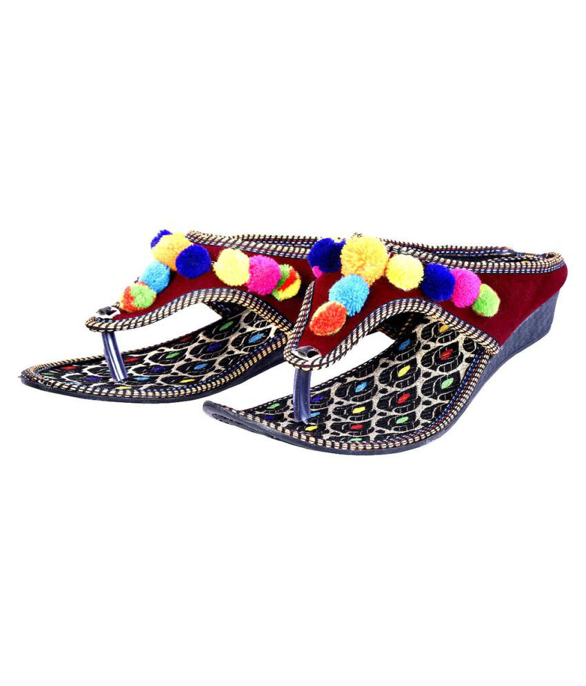 Deal Done Multi Color Wedges Flats