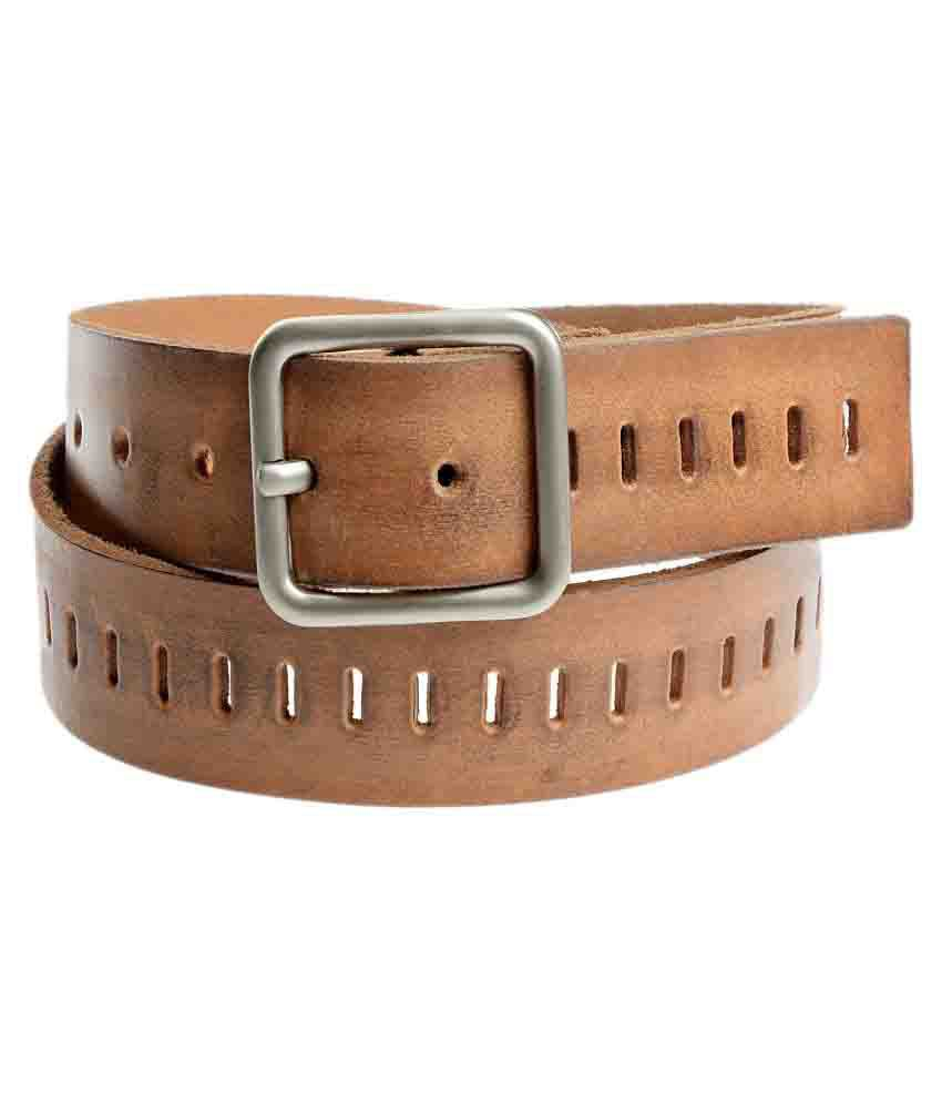 Virtuoso Tan Leather Casual Belts