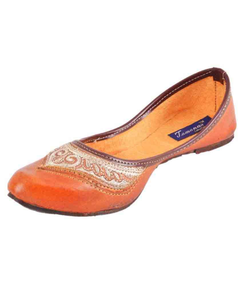 Tamanna Multicolor Flat Ethnic Footwear