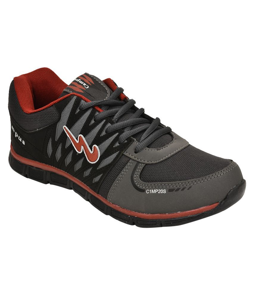 Campus 3G-7229 GRAY Running Shoes