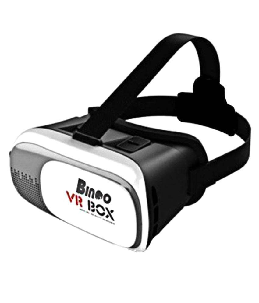 Bingo Multicolour Virtual Reallity 3D VR Headset available at SnapDeal for Rs.399