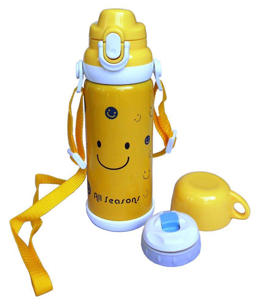 All Season Yellow Water Bottles