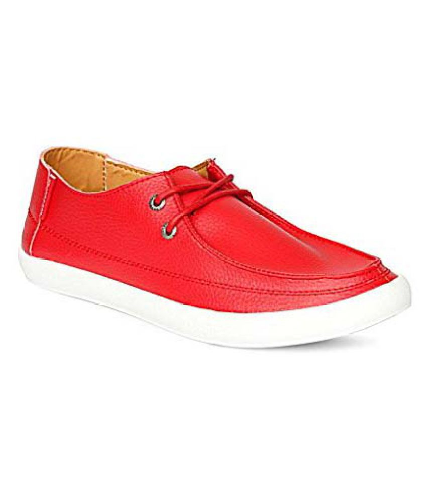 Lee Cooper Sneakers Red Casual Shoes