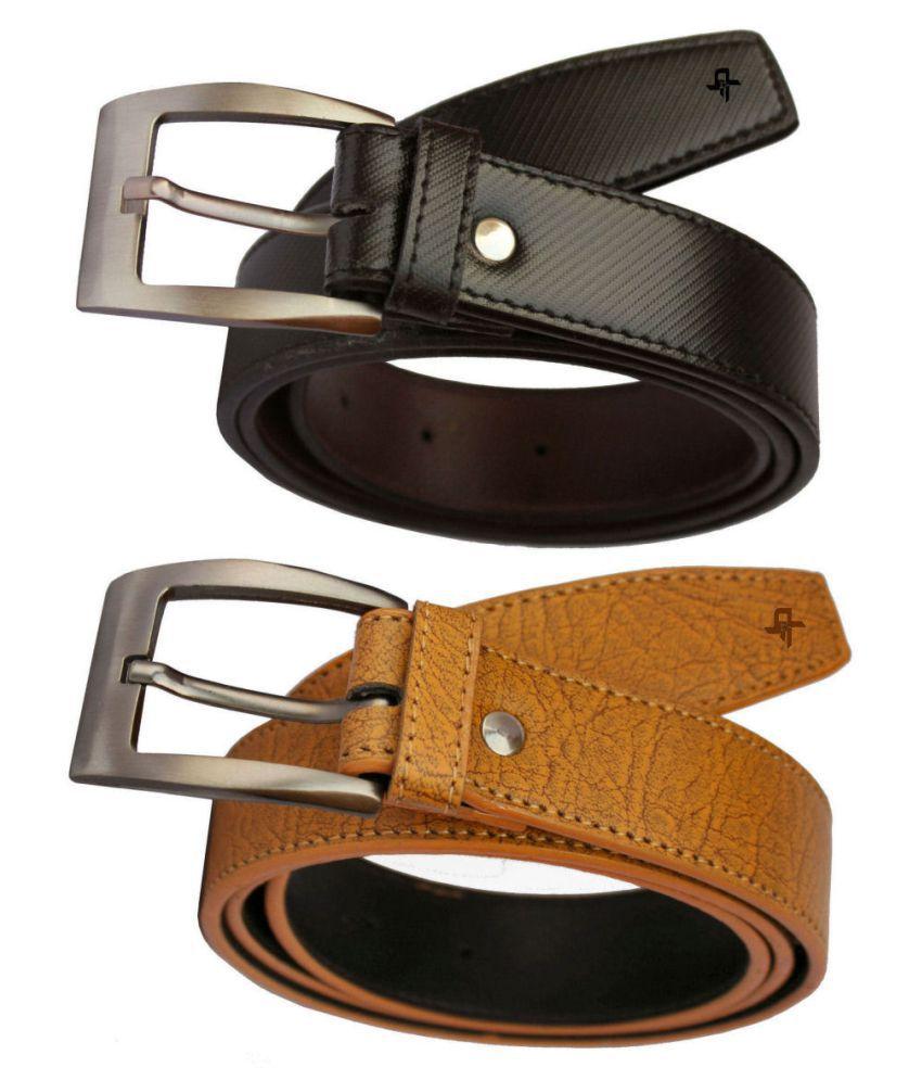 Discover Fashion Multi PU Formal Belt