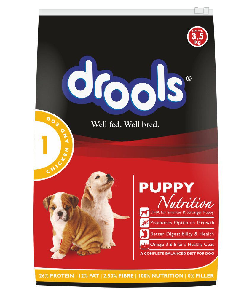 Drools Chicken & Egg Puppy Dog Food 3.5kg