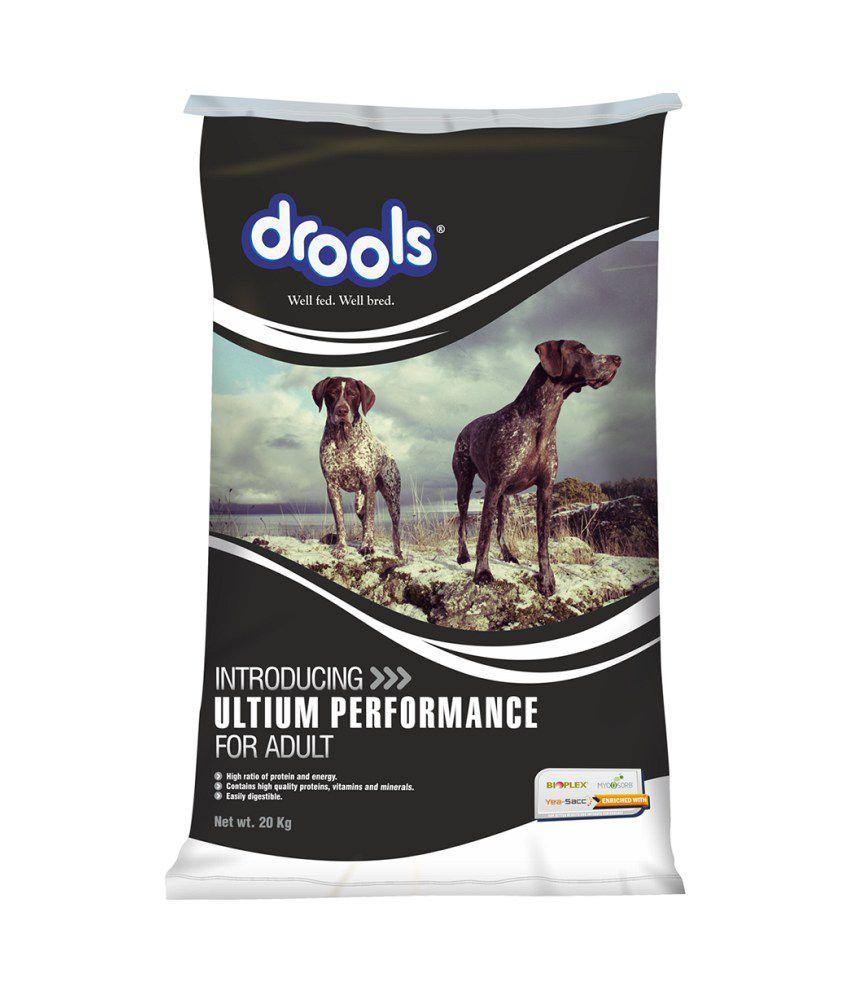 Drools Ultium Performance Chicken Based Adult Dog Food - 20 Kg