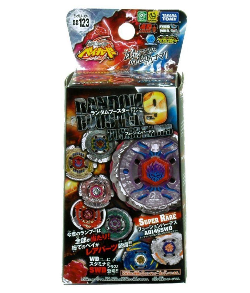 Takara Beyblade Metal Fight BB-123 Random Booster Vol 9 Hell Beelzeb 125XF