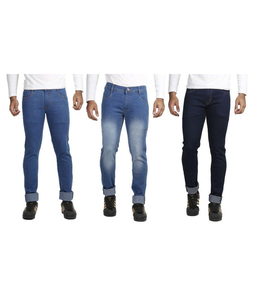 Vs Fashion Blue Slim Jeans