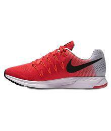 Nike Zoom Pegasus 33 Red Running Shoes