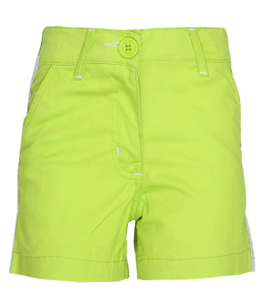 612 League Green Hot Pants