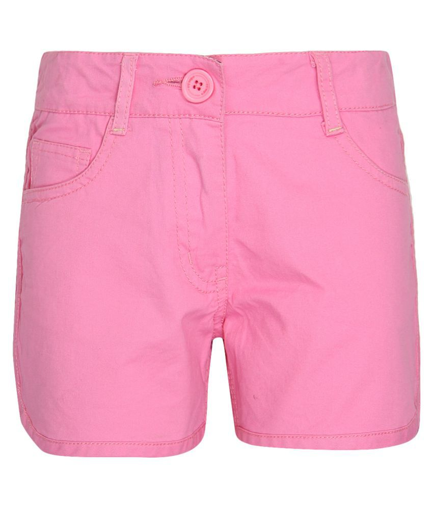 612 League Pink Hot Pants