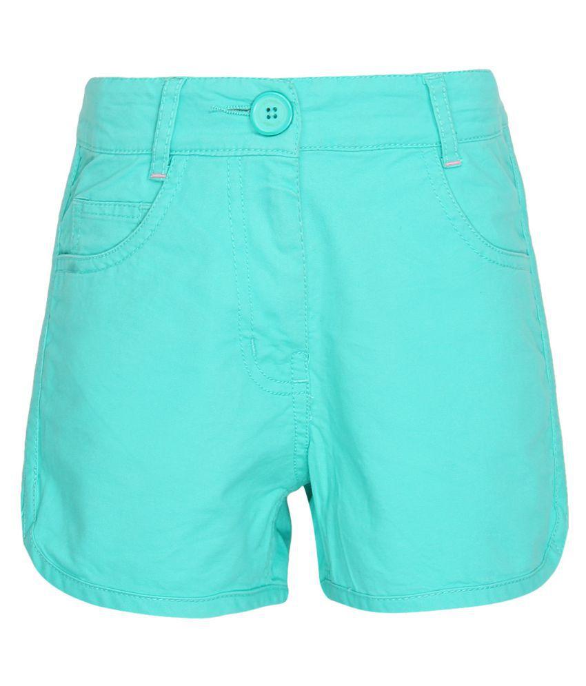 612 League Turquoise Hot Pants