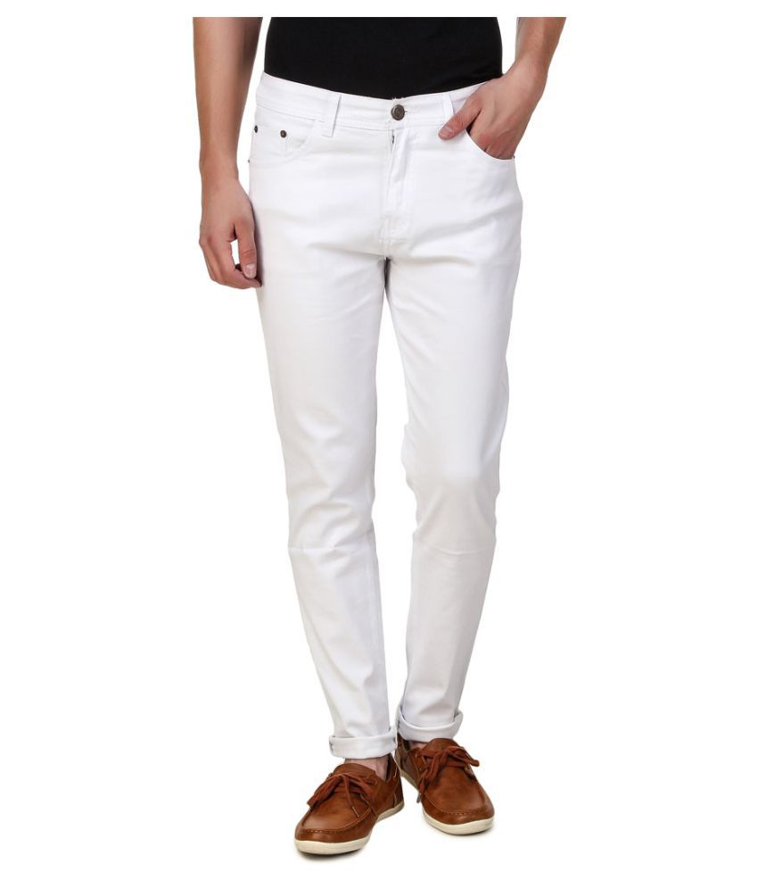 Haltung White Slim Jeans