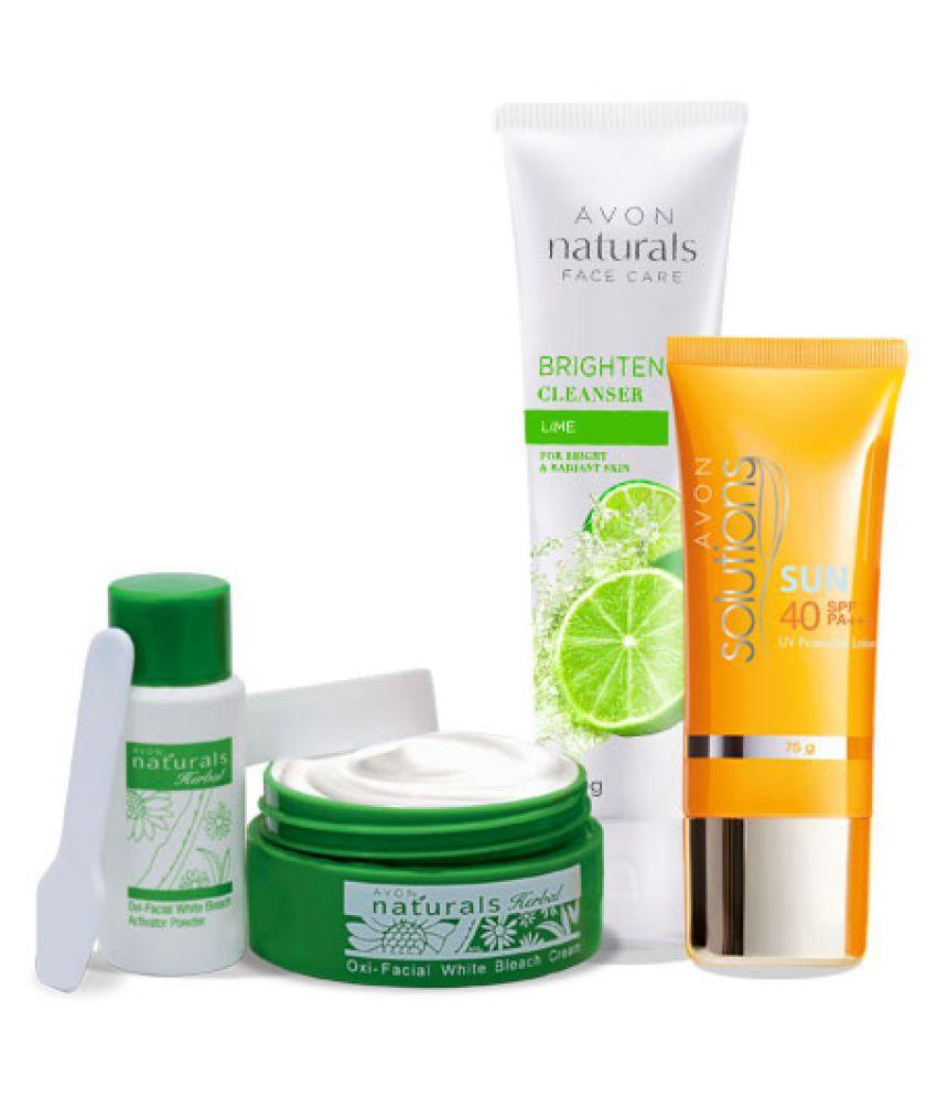 Avon Skin Care: Avon Skin Care Combo (Bleach+ Cleanser+ Sunscreen Lotion