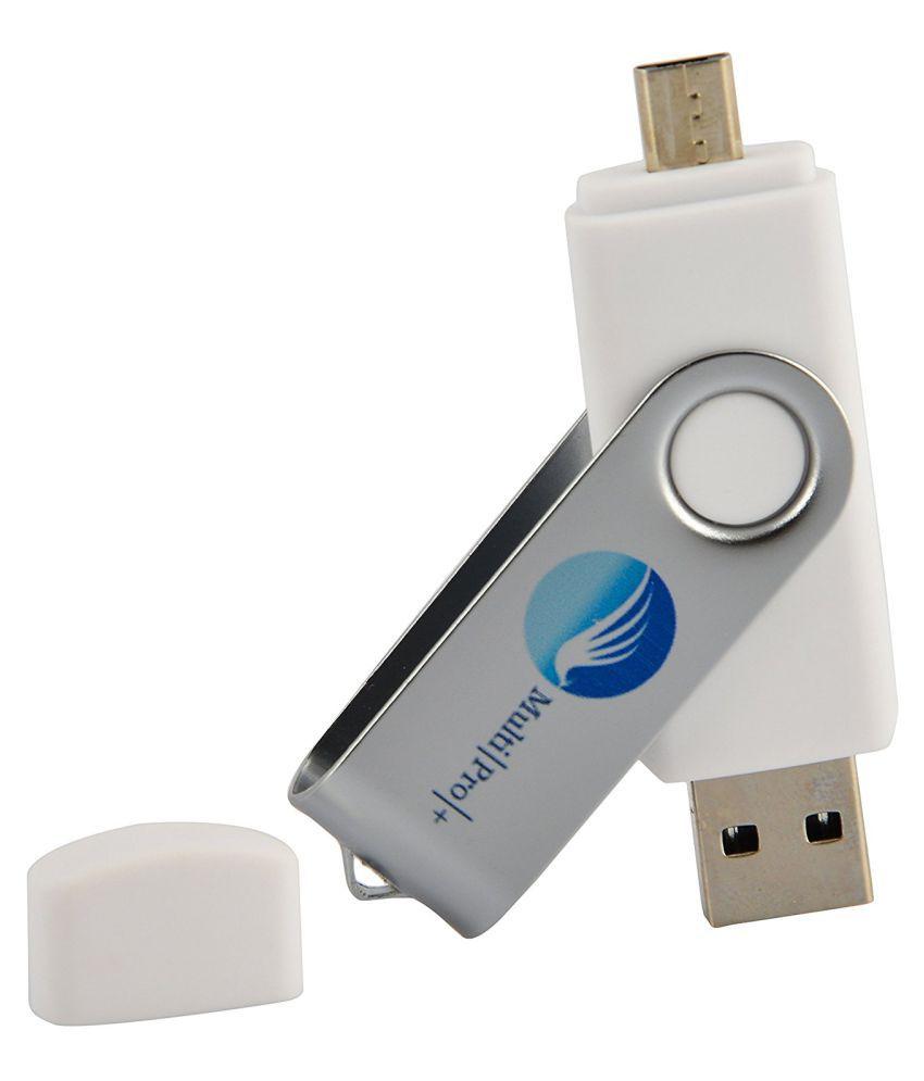 Multi Pro + 32GB USB 2.0 OTG Pendrive White