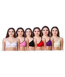 In Beauty Cotton Lycra T-Shirt Bra - 663388217435