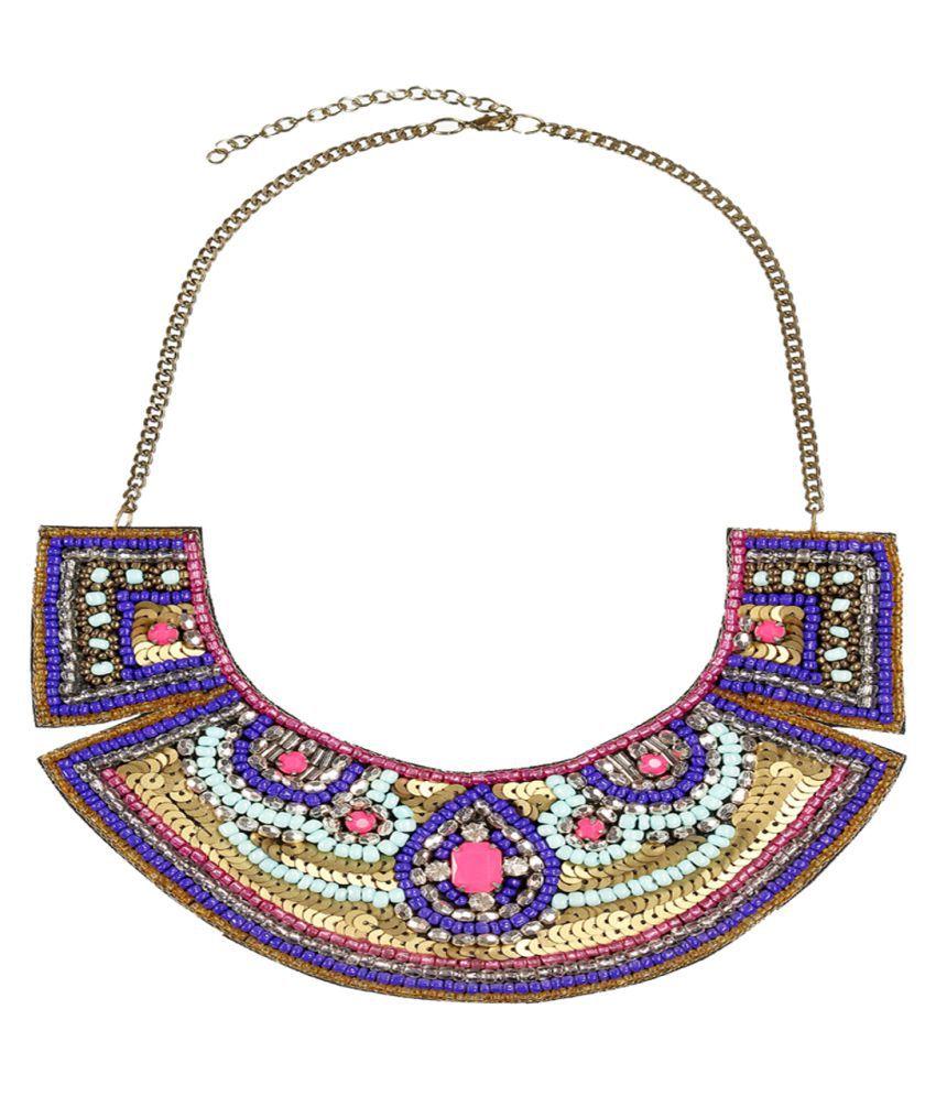 Rizir Fashion Multicolour Necklace