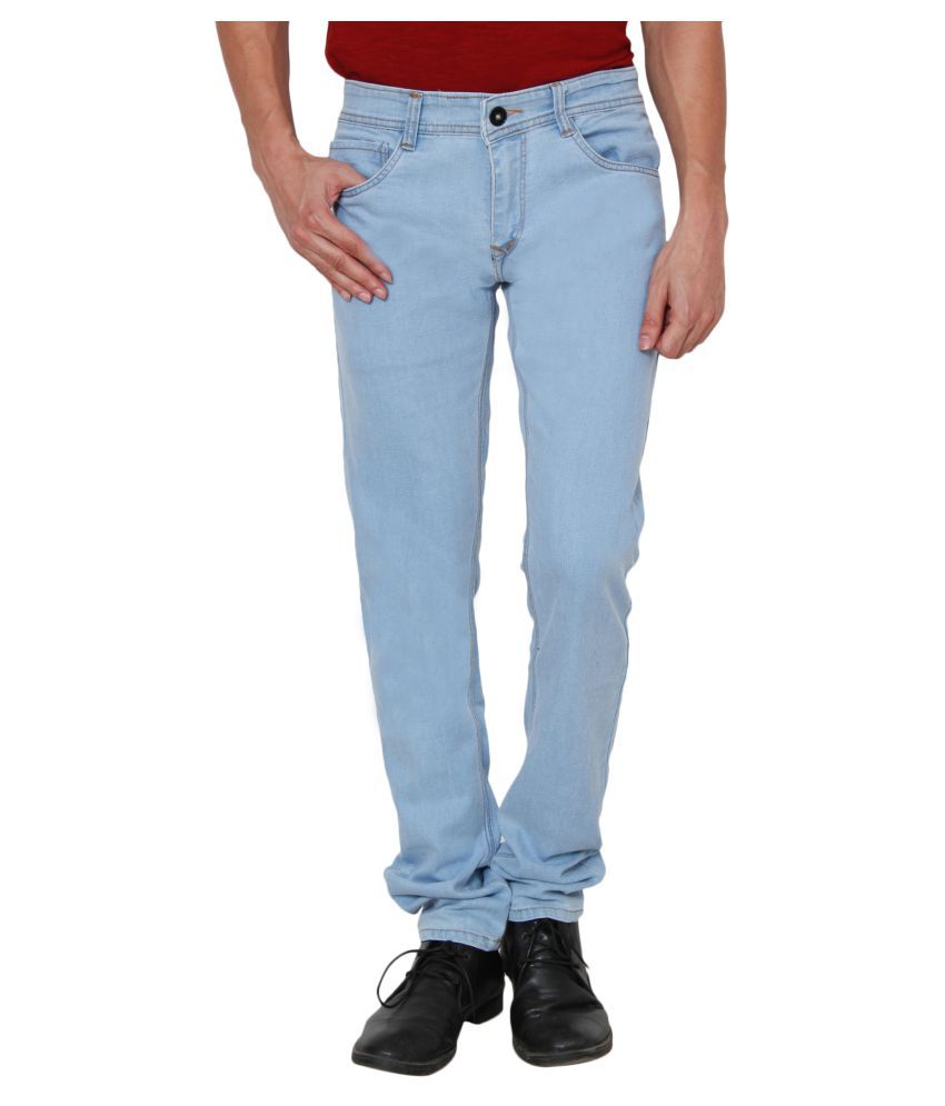 Hipe Blue Regular Fit Jeans