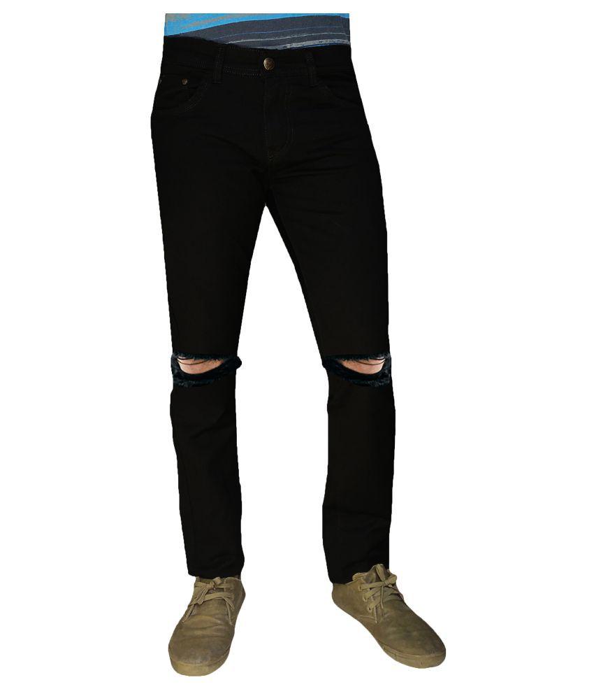 Damler Black Slim Jeans