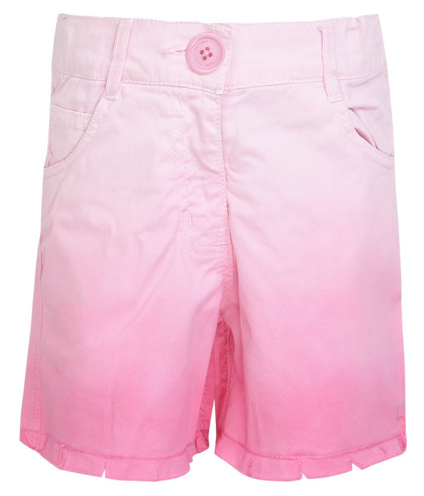 612 League Pink Bermudas