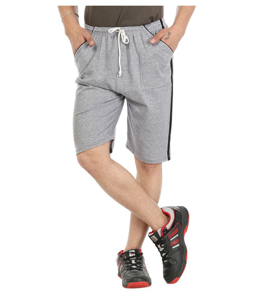 Grabberry Grey Shorts