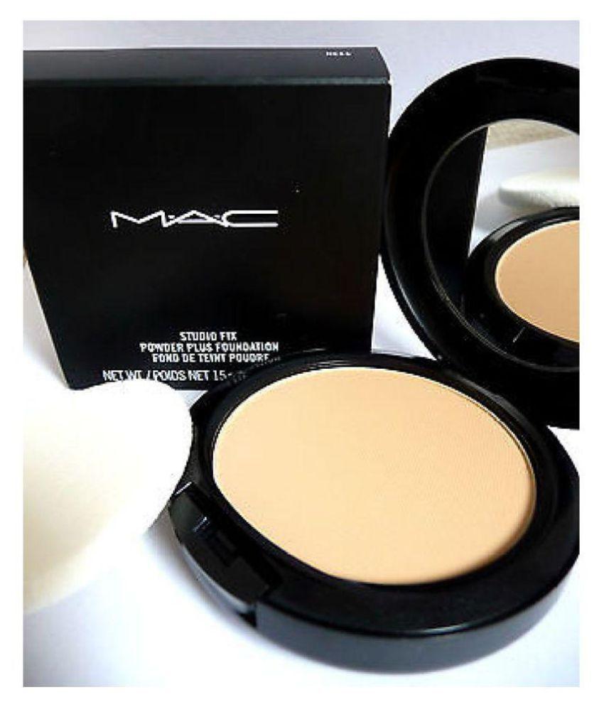 Mac Loose Powder One Side Round Compact Mirror 15 gm