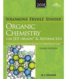 Wiley's Solomons, Fryhle & Synder Organic Chemistry for JEE (Main & Advanced), 3ed