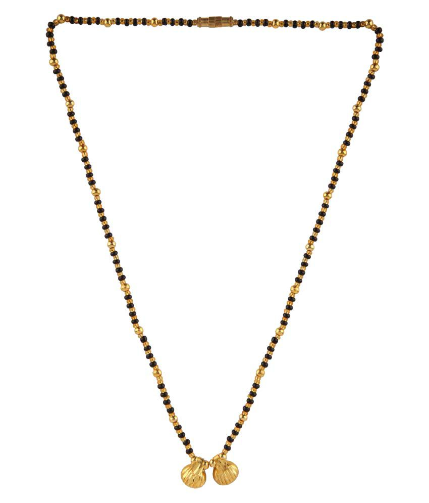 Archi collection designer traditional gold plated wati design archi collection designer traditional gold plated wati design mangalsutra pendant for women aloadofball Gallery