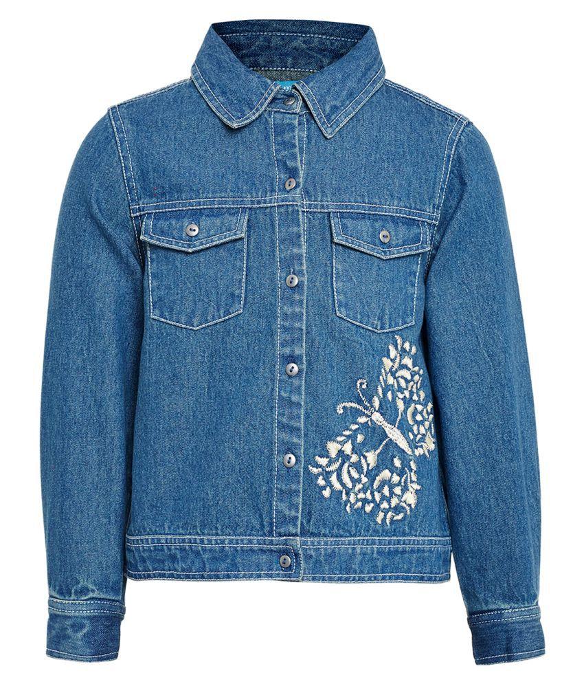 Miyo Blue Denim Jacket