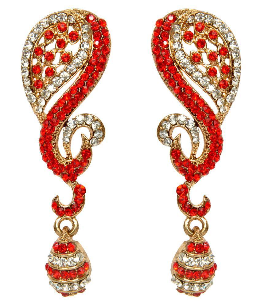 Sweety Multicolour Fashion Hanging Earrings