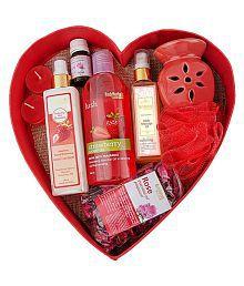 BodyHerbals Luxury Bath & Body Spa Hamper Aromatherapy Bath Kit Pack of 7