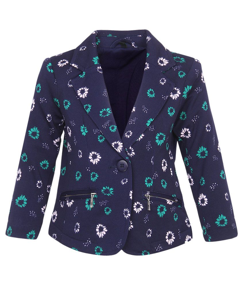 United Colors of Benetton Blue Girls Jacket