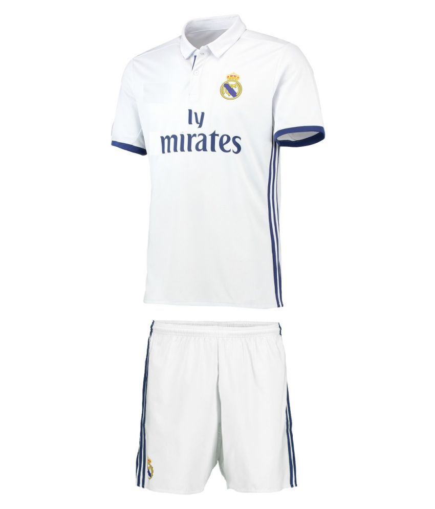 Marex Real Madrid 1 Jersey Set  Buy Online at Best Price on Snapdeal 6cb4b04a5