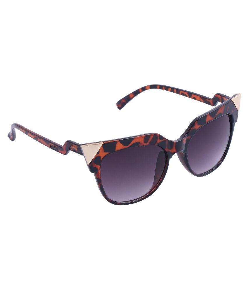 Reyda Purple Cat Eye Sunglasses ( tgr-prpl-cteye-570-01 )