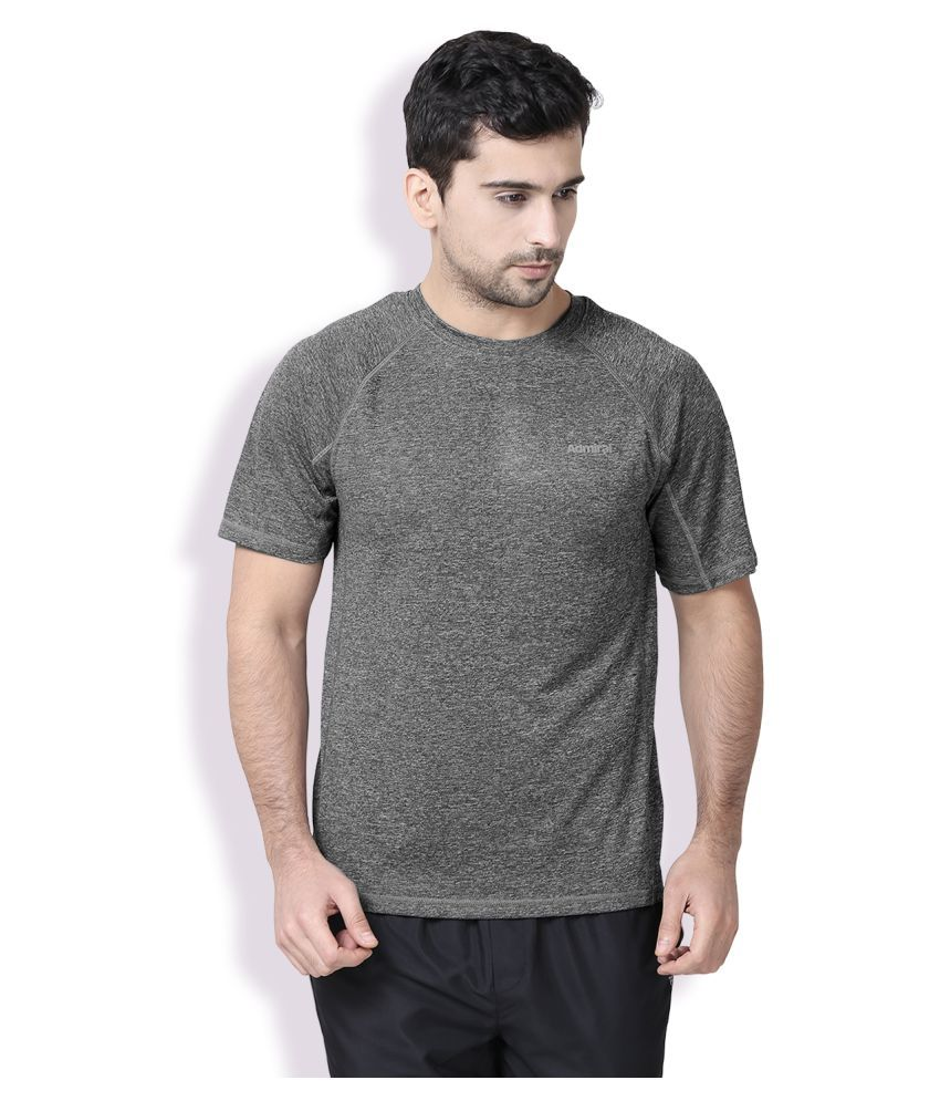 Admiral Grey Polyester T-Shirt Single Pack