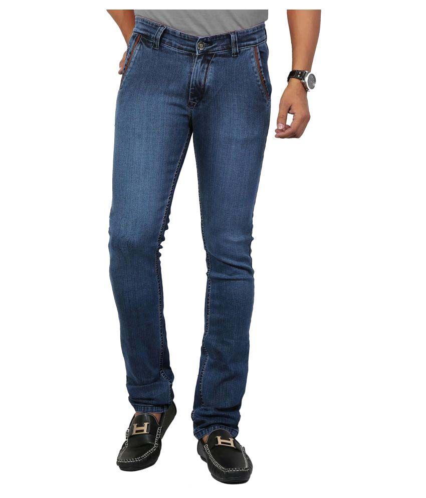 DFU Jeans Blue Regular Fit Jeans
