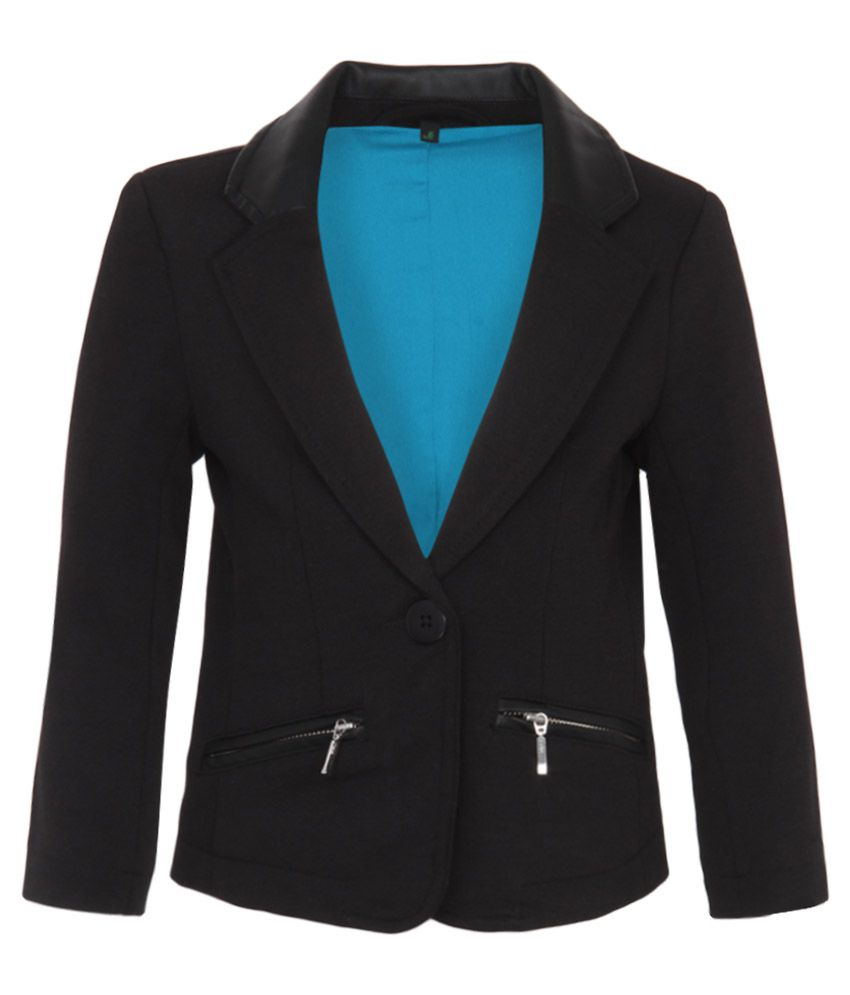 United Colors of Benetton Black Girls Blazers