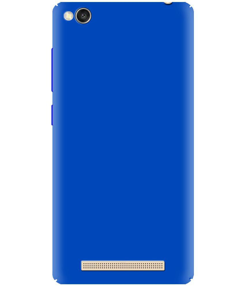 new arrival ce0ba 8b685 Xiaomi Redmi 4A Plain Cases Stadum - Blue