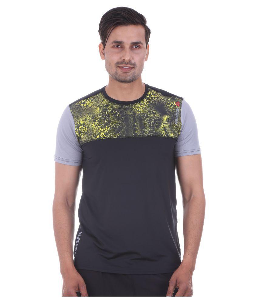 Reebok Multi Polyester T-Shirt