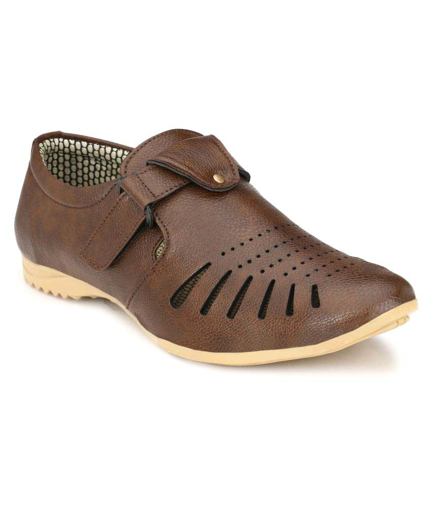 Marpens Shoes Brown Sandals