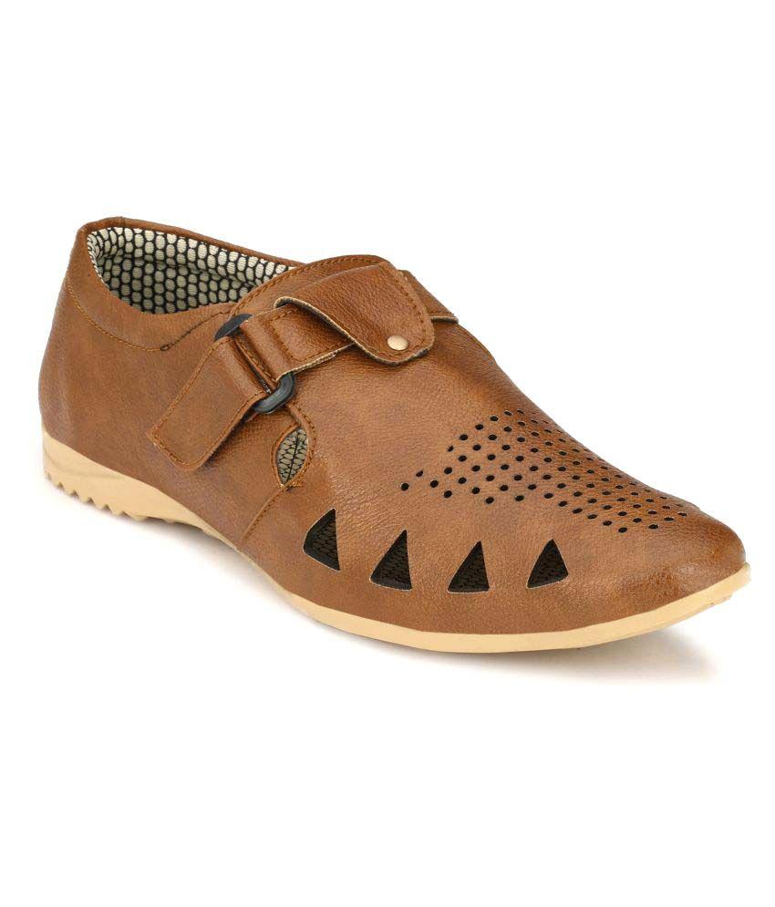 Marpens Shoes Tan Sandals