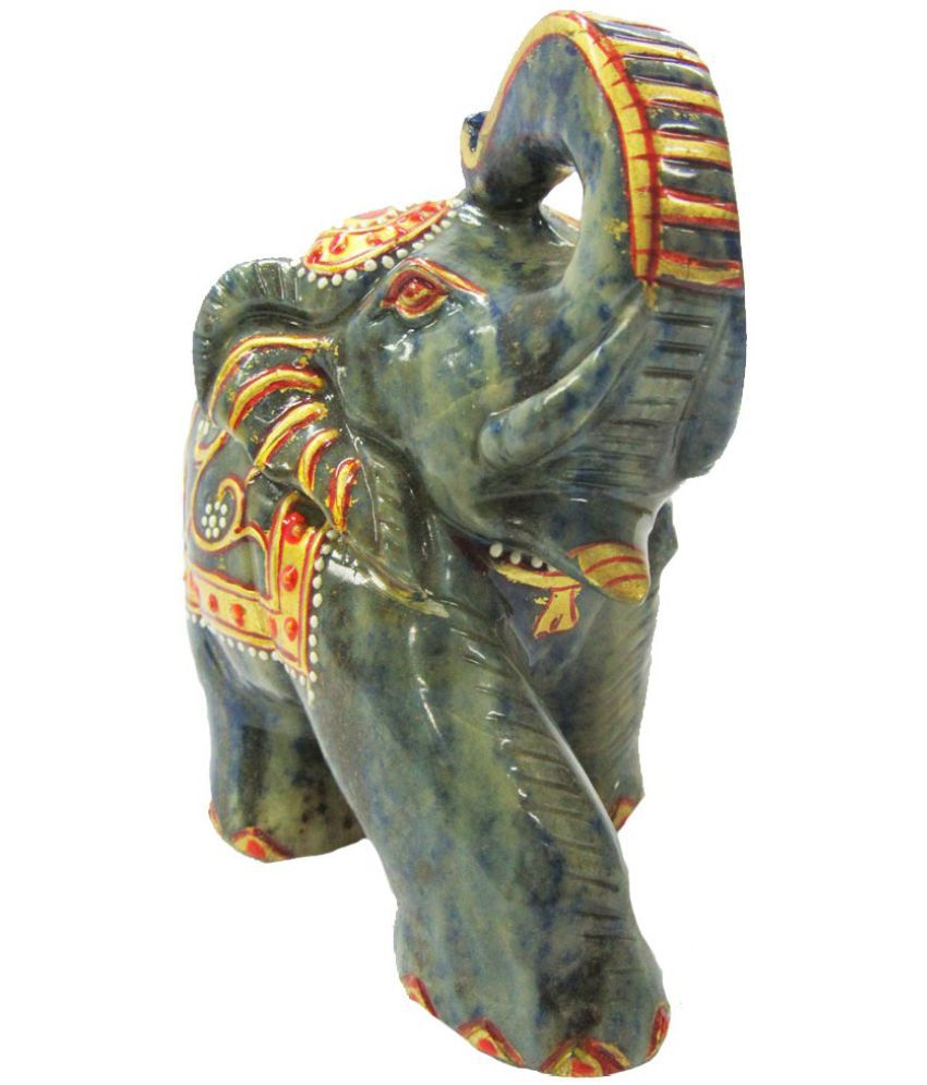 Indian Arts Museum Green Jade Stone Sculptures 9 - Pack of 1