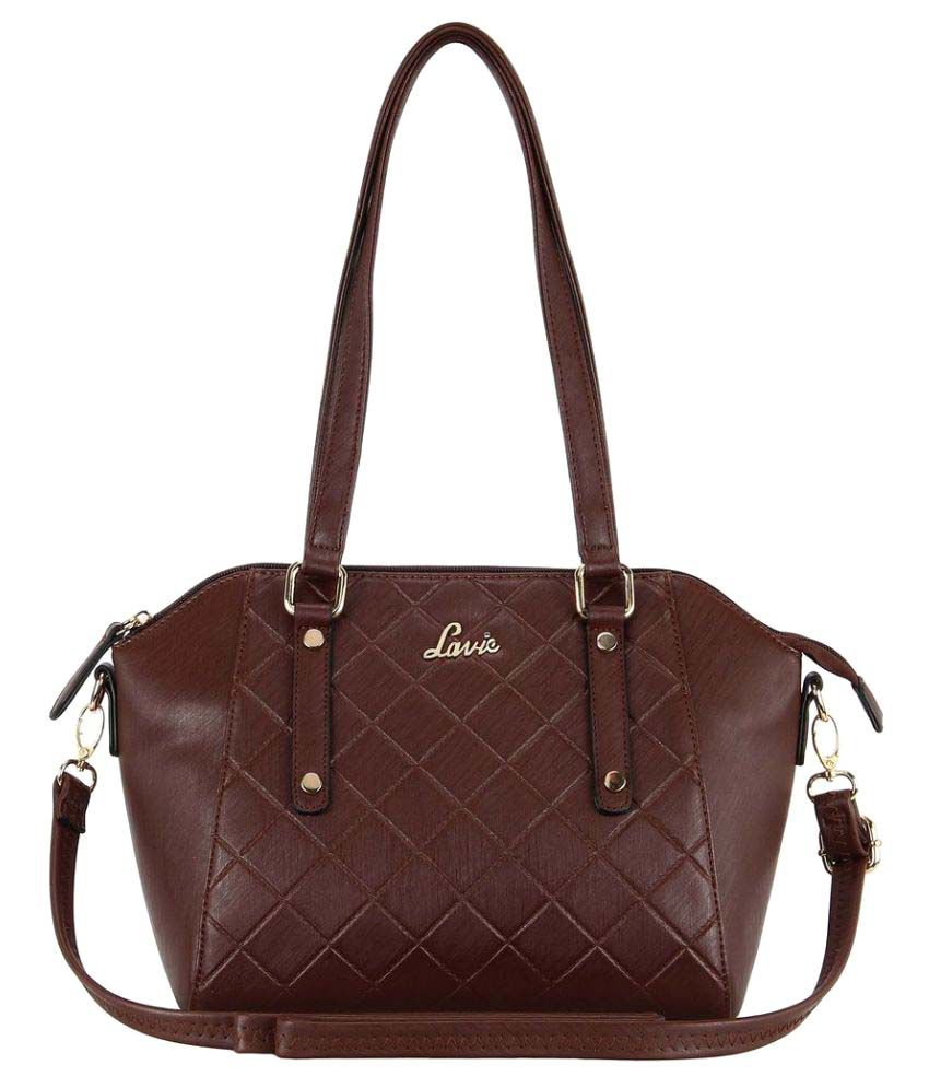 Lavie Brown P.U. Shoulder Bag