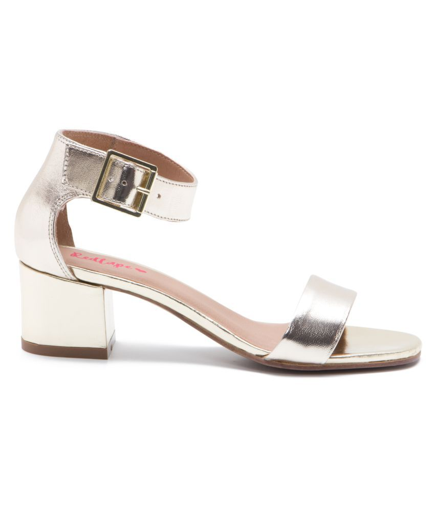 854f6bb490d Red Tape Leather Gold Block Heels Red Tape Leather Gold Block Heels ...